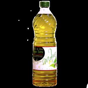 Botella 1 L Aceite Oliva virgen Extra Ecológico Molino Cerro Rubio