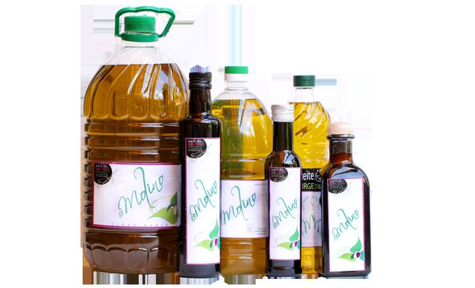 Productos de El Molino de Cerrorubio