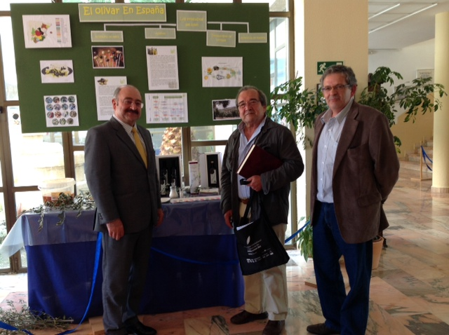 Jesús Navarro Sánchez, Director General de El Molino Cerro Rubio, y Álvaro González Coloma, Dtor. Gte. de la Fundación Patrimonio Comunal Olivarero